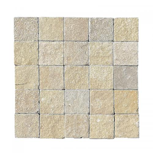Pavé calcaire tandur beige